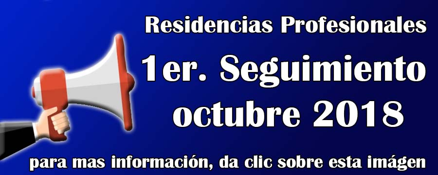 Residencias Oct 2018
